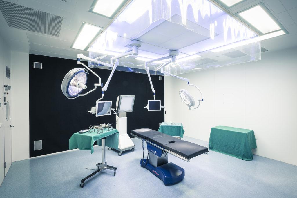 schlüsselfertiger Operationssaal